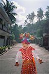 Person in Costume, Marinduque, Philippines