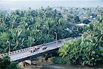 Aerial of Bridge, Dakak, Mindanao, Philippines