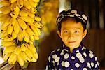 Porträt eines jungen, meine Tho, Vietnam