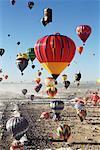 Hot Air Balloon Fiesta, Albuquerque, Nouveau-Mexique, États-Unis