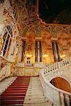 Intérieur du Palais de Peterhof, Saint-Pétersbourg, Russie
