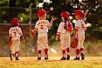 Enfants jouer au Baseball