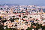 Overview of San Miguel de Allende Guanajuato, Mexico
