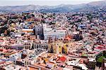 Overview of Guanajuato, Guanajuato, Mexico