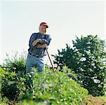 Portrait of Farmer in Field