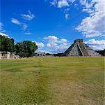 Kukulkan Pyramide, Chichen-Itza, Yucatan, Mexiko