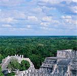 Temple of the Warriors, Chichen-Itza, Yucatan, Mexico