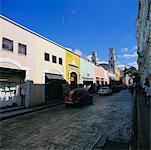 Street Scene, Merida, Yucatan, Mexico