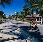 Street Scene, Isla Mujeres, Quintana Roo, Mexico