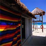 Lifeguard Station on the Beach, Cozumel, Quintana Roo, Mexico