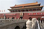 Portes de la cité interdite de Pékin, Chine