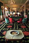 Interior of Lobby at Grand Hotel, Mackinac Island, Michigan, USA