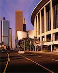 Tours à bureaux et la Dorothy Chandler Pavilion, Los Angeles, Californie, USA