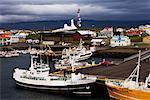 Stykkisholmur, péninsule de Snaefellsnes, Islande