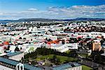 Skyline, Reykjavik, Islande