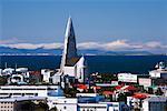 L'église Hallgrimskirkja, Reykjavik, Islande