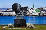 Sculpture, Reykjavik, Iceland