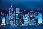 Hong Kong la nuit, Chine