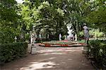 Jardins du palais, Saint-Pétersbourg, Russie