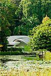 Lac symphonie dans les jardins botaniques de Singapour, Singapour