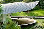 Shaw Symphony Foundation étape, lac Symphonie, Singapore Botanical Garden, Singapour