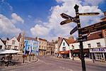 Street Scene, Glastonbury, England