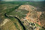 Aerial View of Peppimenarti, Northern Territory, Australia