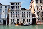 Buildings Along Canal, Venice, Italy