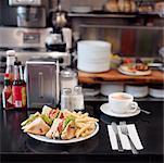 Club Sandwich at Diner