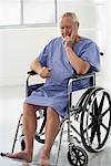 Portrait of Man in Wheelchair