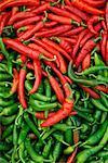Display of Habanero Peppers