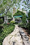 Chemin d'accès dans l'arrière-cour
