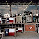 Extérieur de la boutique de cadeaux, Austin, Texas, USA