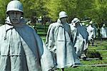 Guerre de Corée Veterans Memorial, Washington, DC, USA