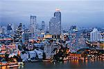 Skyline at Dusk, Bangkok, Thailand