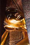 Statue de Bouddha couché, Wat Pho, Bangkok, Thaïlande