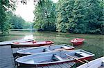 Lac d'Allemagne, Berlin, Tiergarten, location kayak bateaux
