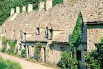 Village de Bibury du Gloucestershire, en Angleterre, dans les Cotswolds