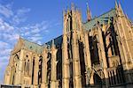 France, cathédrale St Etienne de Lorraine, Metz, néogothique