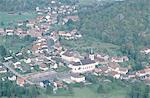 France, Lorraine, la Bresse, aerial view
