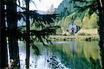 France, Lorraine, Rudlin, Les Dames pond