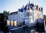 France, Touraine, Chenonceaux, castle