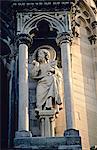 France, région de Champagne, de la cathédrale de Reims