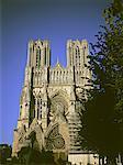 Cathédrale de style gothique champenois, Reims, France