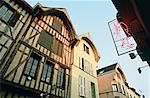 Maisons médiévales de la région Champagne, Troyes, France