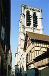 France, cathédrale de la région Champagne, Troyes, Ste Magdalen