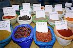 Spain, Andalusia, Granada, spice market.