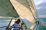 Thailand, sailing boat