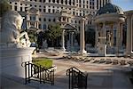Swimming Pool at Caesars Palace Hotel, Las Vegas, Nevada, USA