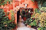 Hotel Courtyard, San Miguel de Allende, Guanajuato Province, Mexico